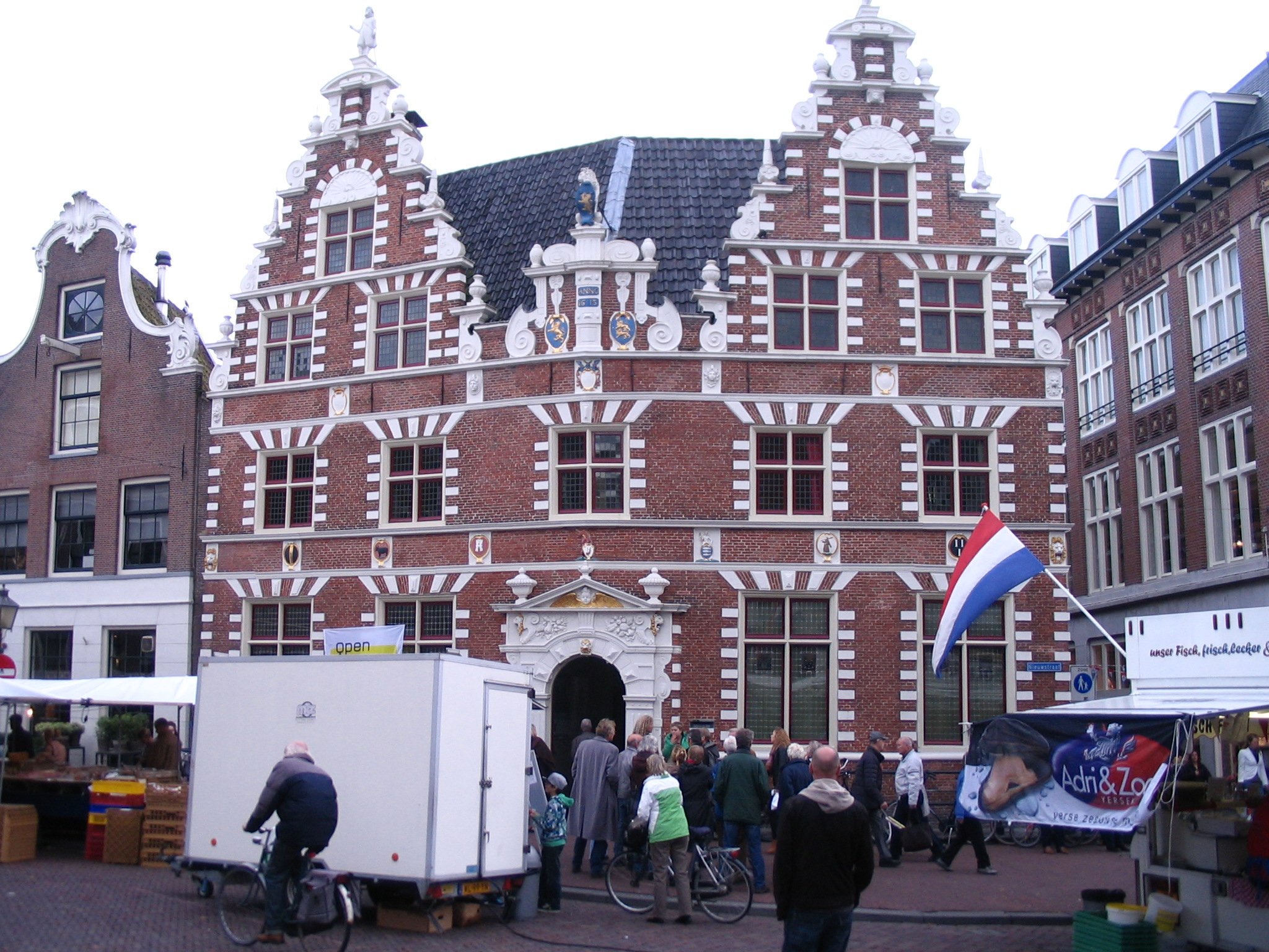 The front of the Statenlogement