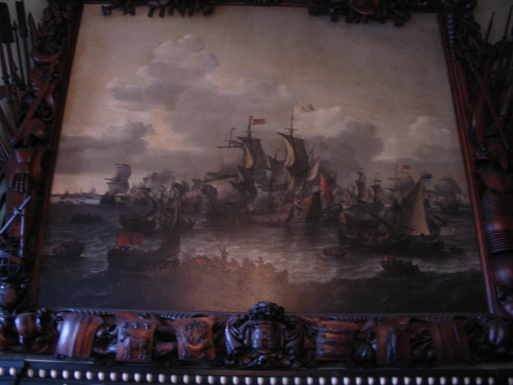 Main painting of the Scheepenkamer