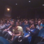 Main room of PHPBenelux